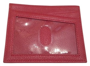 Levenger Levenger Red Leather ID/Card Case