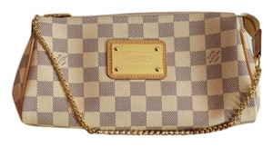 Louis Vuitton Eva Clutch Crossbody Damier Canvas Shoulder Bag