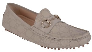 Gucci Loafers Women's Loafers Ivory Flats