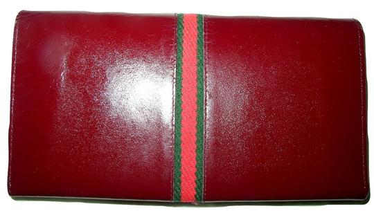 Gucci Reconditioned GUCCI Auth Racing Stripe Wallet