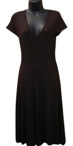 Zara Knit Mid Length Dress