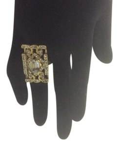 Other R15 Art Deco Satin Hamilton Gold Ring