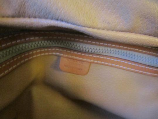 Céline Boston Made In Italy Macadam Satchel in brown