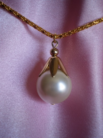 Other Large faux pearl necklace
