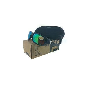Costa Del Mar Costa Del Mar TF11OGMP Fantail Black/Green Lens Sunglasses