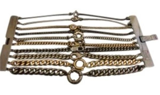 Preload https://item4.tradesy.com/images/jean-paul-gaultier-mixed-metallics-vintage-multi-strand-chain-bracelet-152113-0-0.jpg?width=440&height=440