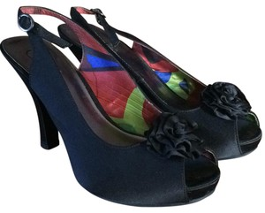 Candie's Black Platforms