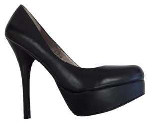 ZIGIny High Platform Black Pumps