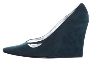 Sigerson Morrison Emerald Green Wedges