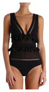 SUMMER CLEARANCE LAST CHANCE New Sexy Black One PC Bathing Suit