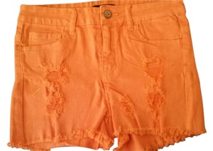 Klique B Cut Off Shorts Coral