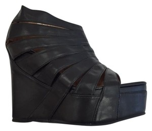 Jeffrey Campbell High Platform Black Wedges