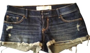 Abercrombie & Fitch Mini/Short Shorts Dark Blue Denim