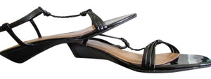 Talbots Black Patent Sandals