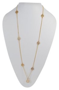 FASHION FOWARD WOMEN'S LONG GOLD PLATED FASHION JEWELRY NECKLACE ON SALE