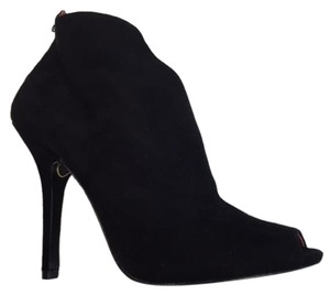 Charles Jourdan High Heels Bootie Black Boots