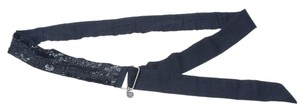 Dries van Noten Dries Van Noten Black Sequin Belt