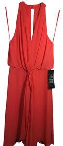 BCBGMAXAZRIA short dress Orange ambrosia Chiffon Spring Summer on Tradesy