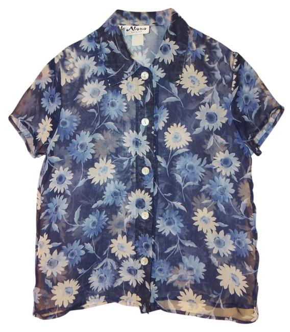 Preload https://item2.tradesy.com/images/blue-blouse-size-6-s-1521416-0-0.jpg?width=400&height=650