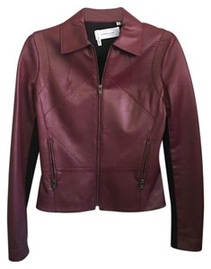 10 Crosby Derek Lam Burgundy Burgandy Leather Jacket