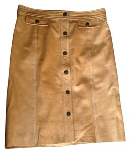 Michael Kors Skirt Honey Brown