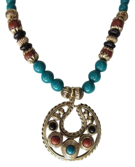 Preload https://item5.tradesy.com/images/1928-vintage-inspired-bead-with-pendant-necklace-152144-0-0.jpg?width=440&height=440