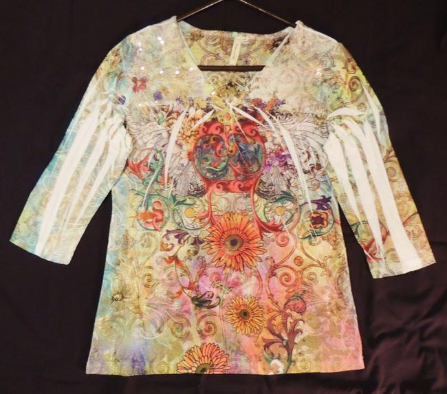Susan Lawrence Top Multi-color