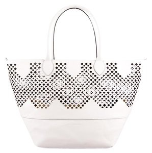 Sophie Anderson Nadia Small Tote in White