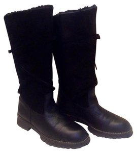 Maxine of Canada Black shearling Boots