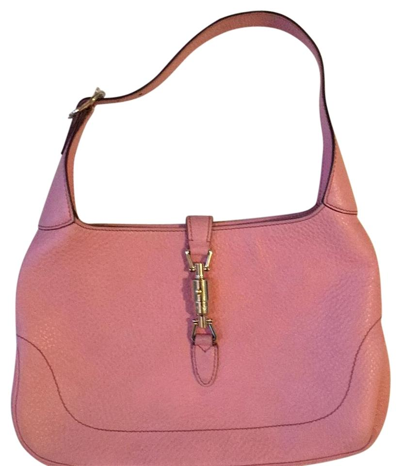 559d1ee5a50 Gucci Pink Leather Hobo Bag - Tradesy