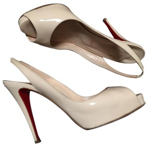 Christian Louboutin Bone Platforms