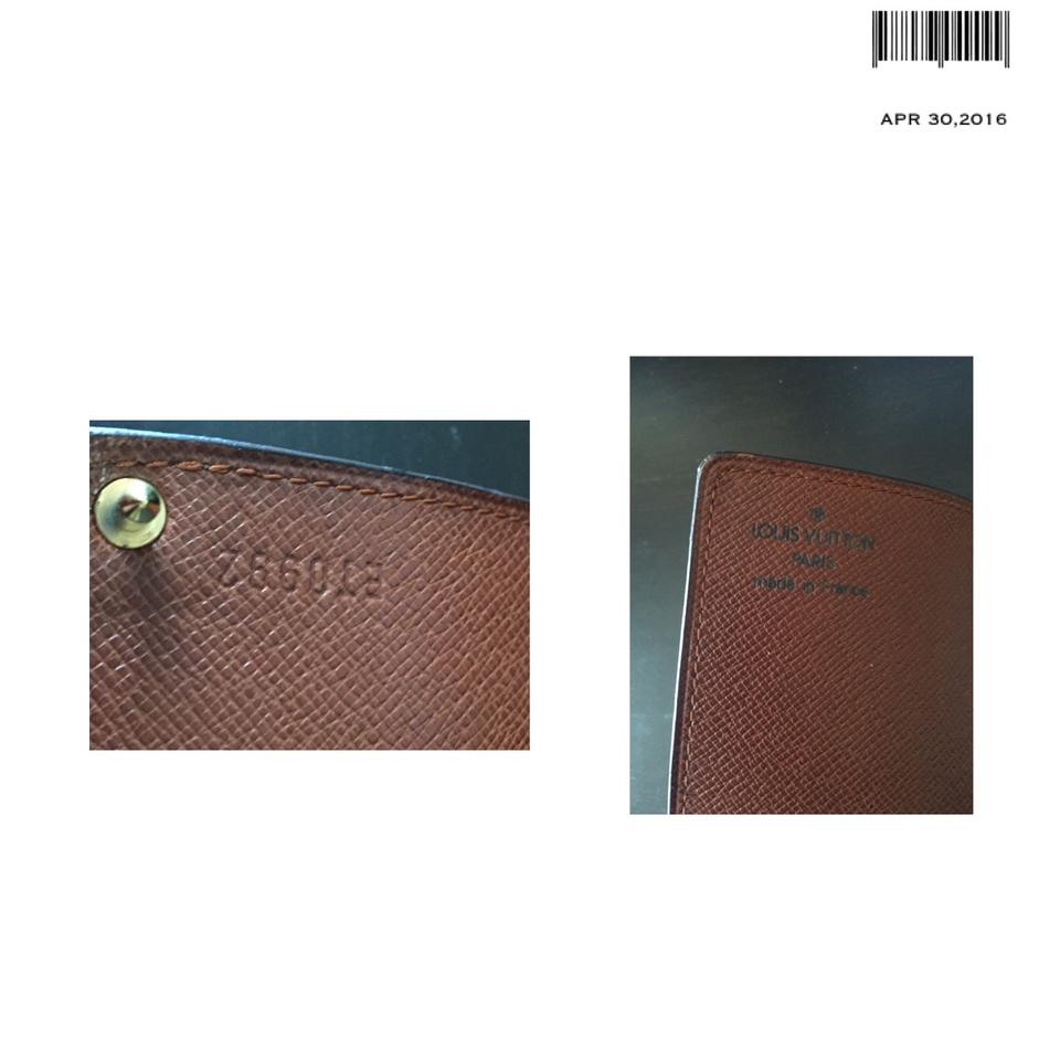 Louis Vuitton Brown Monogram Porte Cartes Credit Card Case Holder - Porte carte credit