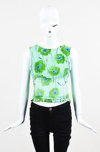 Moschino Cheap And Chic Sage Top Green