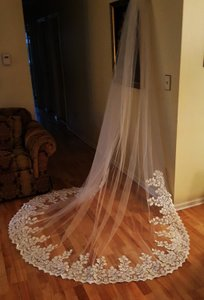 Royal Cathedral Veil Light Ivory 120