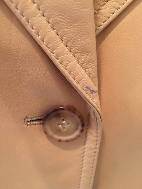 Michael Kors Blazer Tan Leather Jacket Image 4