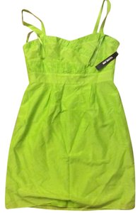Gianni Bini short dress Lime/green on Tradesy