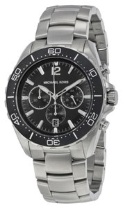 Michael Kors Michael Kors Windward Chronograph Black Dial Stainless Steel Men's Watch 45mm MK8423