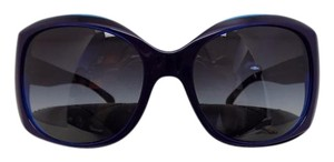Chanel Blue Frame Sunglasses