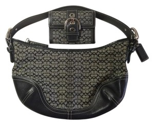 Coach Soho Jacquard Signature Hobo Bag