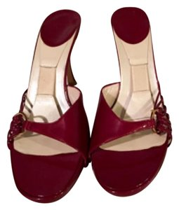 Dior Wine red patent leather Pumps