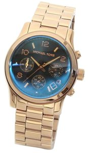Michael Kors Michael Kors Runway Iridescent Dial Rose Gold-tone Ladies Watch 38mm MK5940