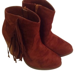 Liliana Weatern booties in Camel Boots