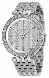Michael Kors Michael Kors Darci Glitz Stainless Steel Glitz Dial Ladies Watch 39mm MK3437