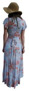 Pastel Floral Maxi Dress by Jody California Vintage Soft