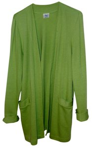 Weekenders Washable Cardigan Chartreuse Jacket