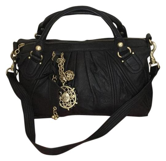 Preload https://img-static.tradesy.com/item/15219865/juicy-couture-butterfly-china-tote-black-and-gold-leather-satchel-0-1-540-540.jpg