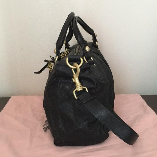 Juicy Couture Satchel in Black & Gold Image 4