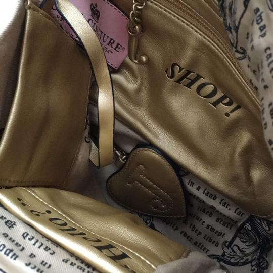 Juicy Couture Satchel in Black & Gold Image 6