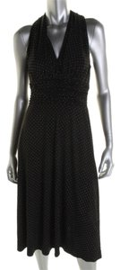 Evan Picone short dress black embellished on Tradesy
