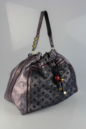 Louis Vuitton Monogram Lurex Bluebird Hobo Bag
